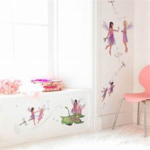 friendship fairies wall stickers set by kidscapes With fairy wall decals
