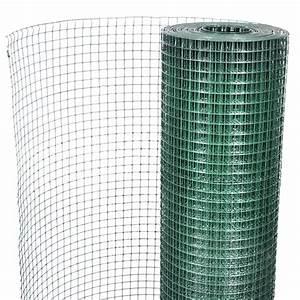 Rouleau De Grillage Pas Cher : square wire netting 1x25 m pvc coated galvanized mesh size ~ Edinachiropracticcenter.com Idées de Décoration