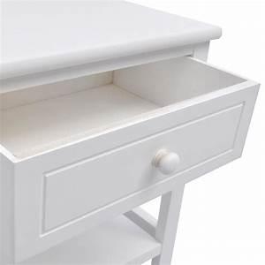 Nachttisch Weiß Günstig : vidaxl nachttisch holz wei g nstig kaufen ~ Michelbontemps.com Haus und Dekorationen