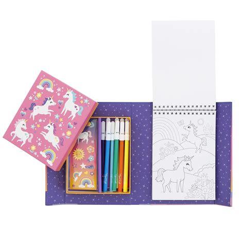 coloring set colouring set unicorn mgic
