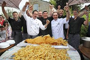 Largest serving of fish and chips: Yorkshire pub sets ...