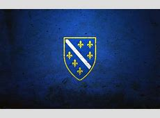 Download wallpapers Bosnia and Herzegovina flag, stone