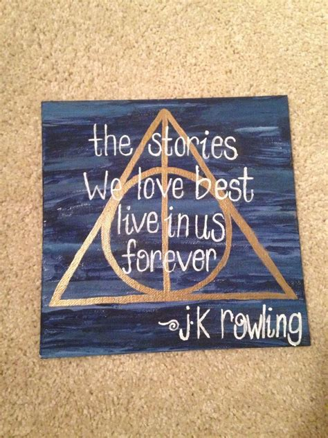 inspirational canvas painting  quotes  decorate  home  harry potter canvas