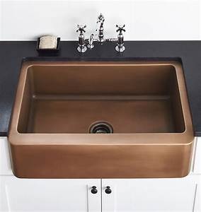 apron front copper sink 25quot x 22quot rejuvenation With discount apron front sink