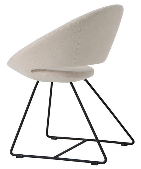 soho concept crescent wire chair dining chair restaurant chair