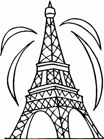 Olds Coloring Pages Cool Eiffel Drawing Ten