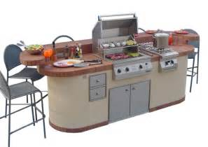prefabricated outdoor kitchen islands 6 fabulous prefab outdoor kitchen grill islands estateregional