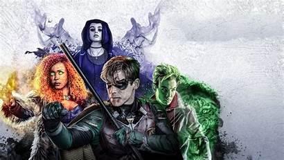Titans 4k Netflix Tv Poster Wallpapers Shows