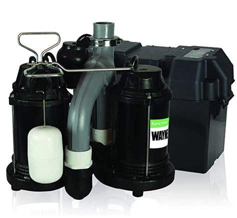 pump sump water softener combination