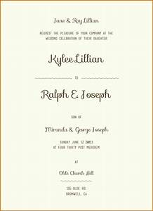 12 sample wording for wedding invitations for Samples of simple wedding invitations