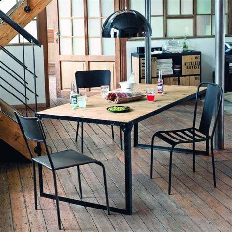 table  diner docks maison du monde   home pinterest salle  manger table