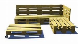 Comment Faire Un Canapé En Palette : salon de jardin en palette trackid sp 006 royal sofa id e de canap et meuble maison ~ Dallasstarsshop.com Idées de Décoration