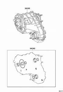 Toyota Sequoia Transfer Case  Drive  Wheel  Transmission