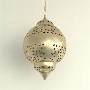 Ds max oriental chandelier brass lighting lamp