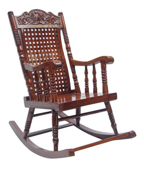 solid wood rocking chair buy at best price in