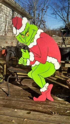 The Grinch Outdoor Decorations - grinch decorations ebay