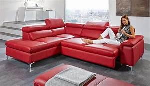 Sofa Mit Relaxfunktion Leder : leder ecksofa die attraktiven farben und beste material f r wohnzimmer sofa ~ Indierocktalk.com Haus und Dekorationen