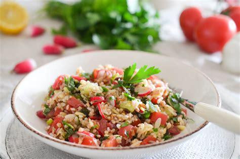 cours de cuisine libanaise salade aux céréales de cagne façon libanaise les