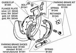 Parking Brake Assembly - Diagram View