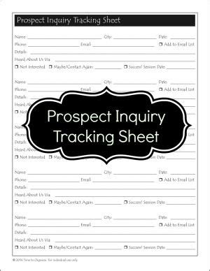 Professional Organizer Contract Template by Client Forms For Professional Organizers Phone Intake