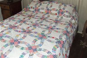 Double wedding ring quilt tim latimer quilts etc for Wedding ring quilts
