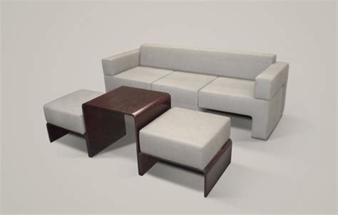 slot sofa compact modular contains table chairs