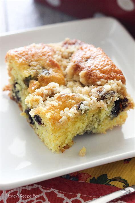 1 1/2 cups all purpose flour 1 tsp. Lemon Blueberry Coffee Cake   Mandy's Recipe Box
