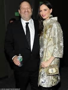 Movie mogul Harvey Weinstein, 60, and 36-year-old wife ...