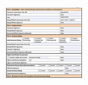 7 performance plan samples sample templates With performance management forms templates