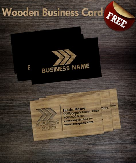 card visit template psd wood wooden business card template by hotpindesigns on deviantart