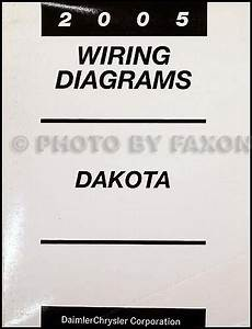 2005 Dodge Dakota Wiring Diagram Manual Original