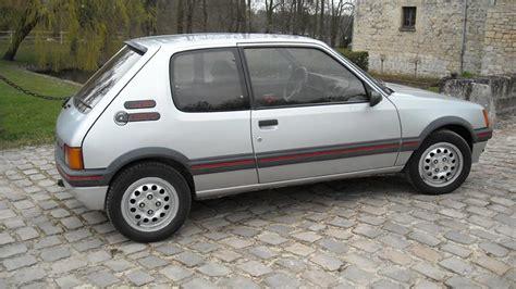 Peugeot 205 Gti by Peugeot 205 Gti 1 6l Octane 102 Fr