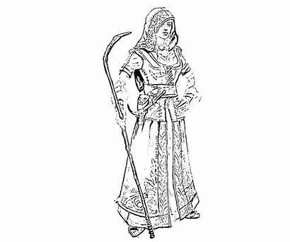 Skyrim Coloring Armor Dragon Elder Scrolls Nord