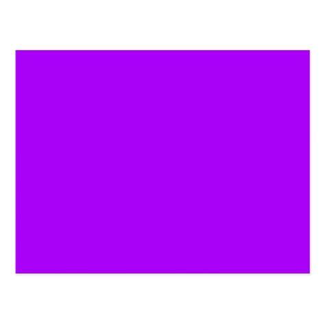 bright purple fuchsia neon purple color only postcard zazzle