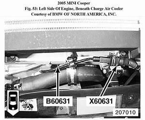 Where Is The Wiring Iat Maf Sensor Located In A 2005 Mini