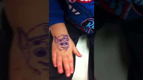 Tattoo Paw Patrol Bimbo 2 Anni