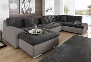 Couch U Form Modern : trendmanufaktur wohnlandschaft wahlweise mit bettfunktion online kaufen otto ~ Bigdaddyawards.com Haus und Dekorationen