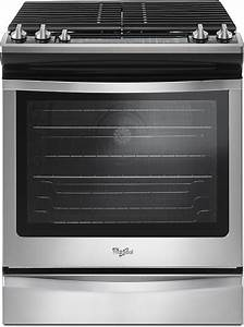 Whirlpool 5.8 Cu. Ft. Self-Cleaning Slide-In Gas ...