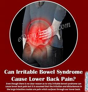 Can Irritable Bowel Syndrome Cause Lower Back Pain ...