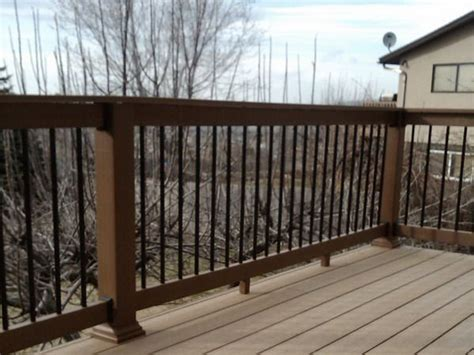 deck railing ideas wood wood deck railing idea decor