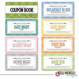 coupon book for your special guy With coupon book for husband template