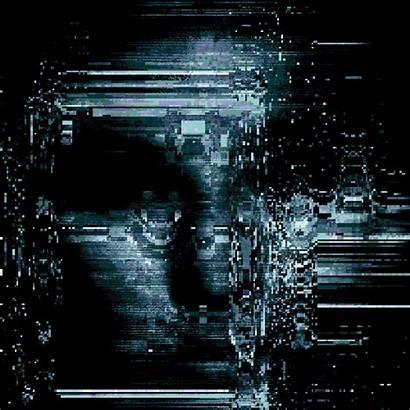 Glitch Ai Giphy Technology Gifs Fucked Cyberpunk
