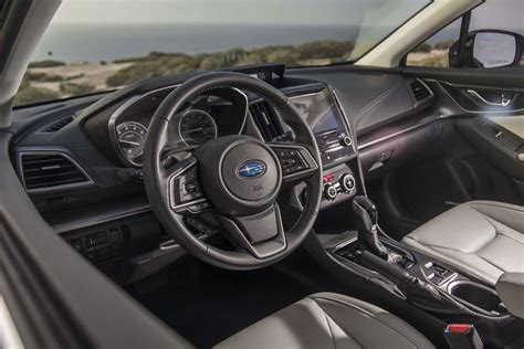 hatchback cars interior all new 2017 subaru impreza bows in new york automobile