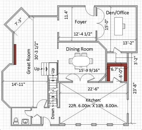 large kitchen house plans 220 w adams we bought a house now what