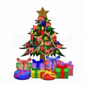 Geschmückter Weihnachtsbaum Fotos : geschm ckter christbaum mit geschenken lizenzfreie bilder ~ Articles-book.com Haus und Dekorationen