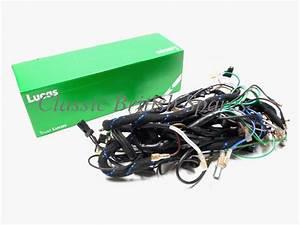 Triumph T140 Tr7 Genuine Lucas Cloth Wiring Harness 99