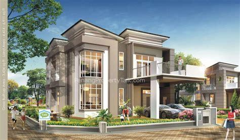 Single Storey Bungalow Design Malaysia  Building Plans