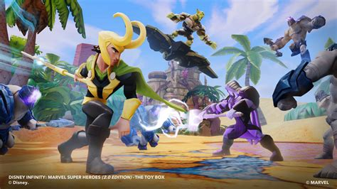 disney toys fan challenges disney infinity 2 0 toy box features announced