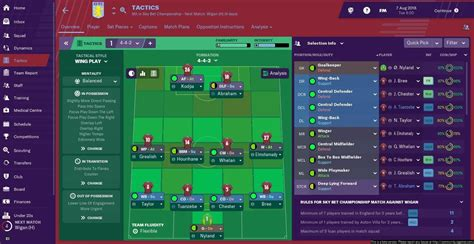 Soccer Manager Best Tactics by Football Manager 2019 Tactics Guide Formations To Play