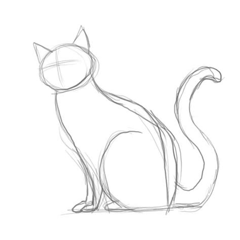 cat sketch 25 best ideas about drawing on how to